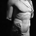 Romanesque bust
