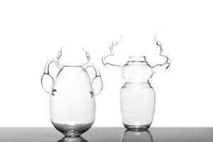 Metamorphosis Glass Vases design Simone Crestani e Camilla Brunelli