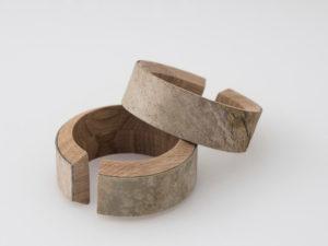 Corteccia wood braclet design Gum Design