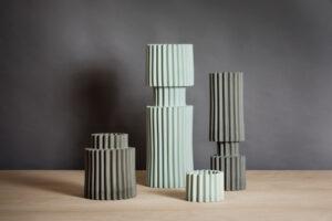 Ceramic Vases La Torre design Francesca Verardo