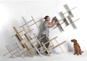 DYNKS bookshelf euroinnovators design gallery